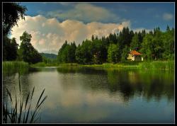 Панагюрски колонии - езерото