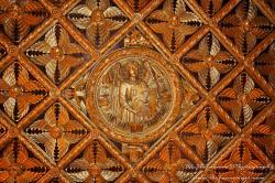 замъка Бойнице - златния таван