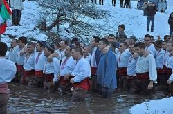 Мъжкото хоро в Калофер 2013