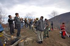Празнуване на етрополци в местността Камичето - 2013