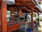 Хотел Чилингира - ресторант - градина