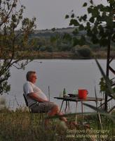 риболов край язовир Бистрица