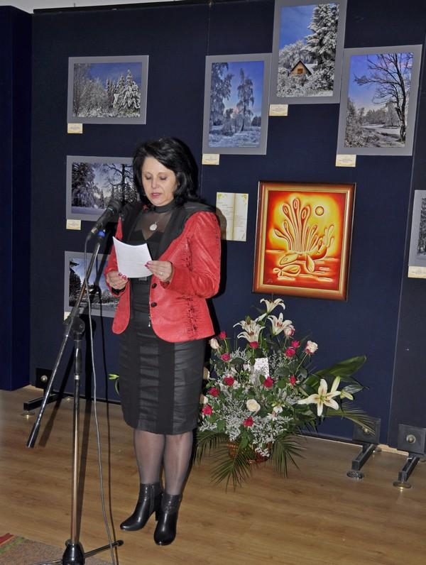 откриване на изложбата Приказно докосване в Панагюрище