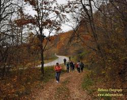 началото на пътеката към Христовски водопад