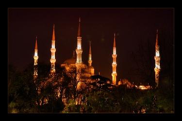 Истанбул, Синята джамия,