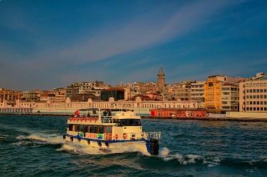 Истанбул, по Босфора