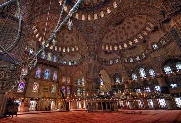 Истанбул, Сината джамия