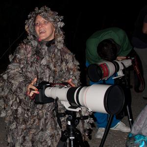 Подготовка за снимане на птици