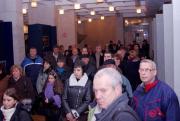 Гостите при откриване на изложбата