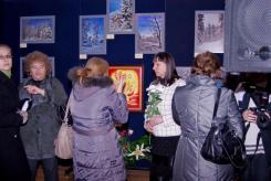 гостите на откриването на изложбата Приказно докосване