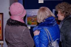 гостите на откриването на изложбата