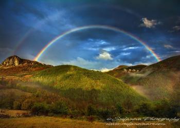 Двойна дъга над Родопите